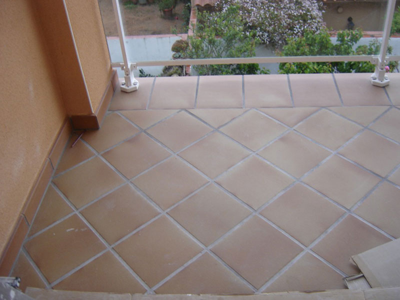 Gres quarry tile lisso costa rica for Baldosas patio exterior